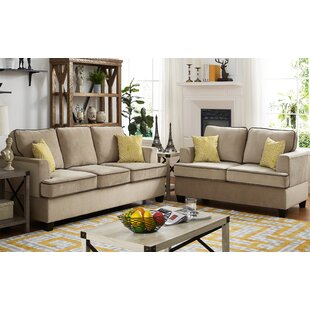 Guglielmo Welt 2 Piece Living Room Set by Charlton Home