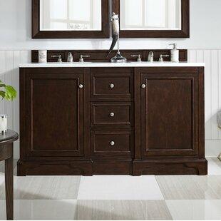 De Soto 60 Double Bathroom Vanity Set