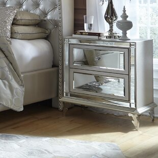Hollywood Loft 2 Drawer Nightstand