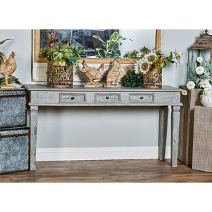 August Grove Cranford Rustic 3-Drawer Con..