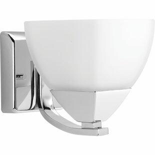 Buy luxury Nason 1-Light Bath Sconce By Ebern Designs