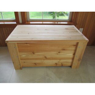 Premium Quality Indoor/Outdoor 36 Gallon Wood Storage Bench
