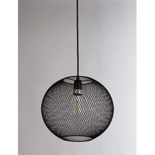 Williston Forge Manda 1-Light Globe Pendant