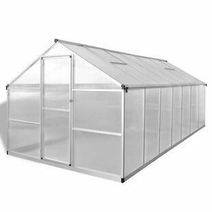 14 Ft W X 8 Ft D Greenhouse By Symple Stuff