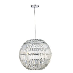 Gottfried 3-Light Crystal Pendant by House of Hampton