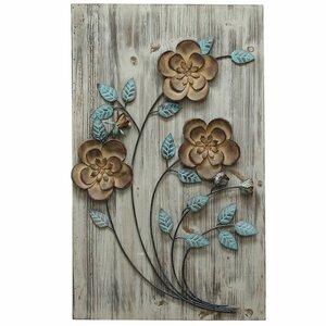 Rustic Floral Panel I Wall Du00e9cor