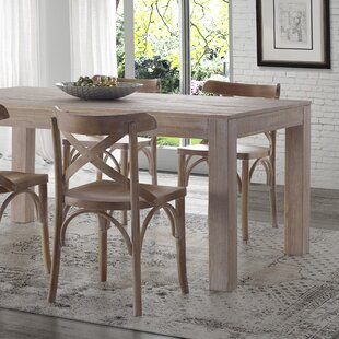 Rustic Farmhouse Tables Youll Love Wayfair - Distressed wood dining table with bench