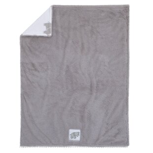 Price comparison Aaryahi Cuddle Plush Blanket Elephant ByHarriet Bee