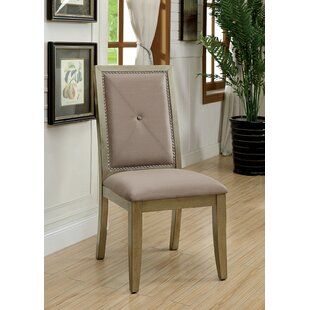 Blue Hill Upholstered Dining Chair (Set of 2) Ophelia & Co.