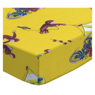 Affordable Price Curious George Fun 3 Piece Crib Bedding Set BySheetworld