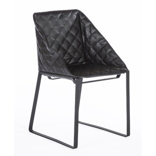 The Bailey Genuine Leather Upholstered Dining Chair dCOR design