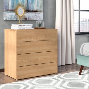 Jansen 4 Drawer Chest by Trule Teen