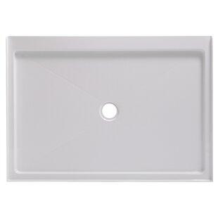 Affordable 48 x 34 Single Shower Base ByHazelwood Home