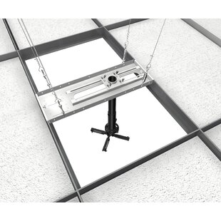 Universal Suspended Ceiling Mount Projector Kit by Crimson AV Find