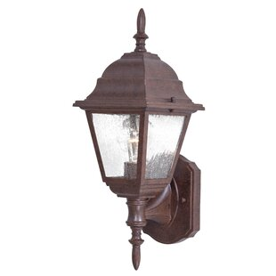 Bay Hill 1-Light Outdoor Sconce by Great Outdoors by Minka