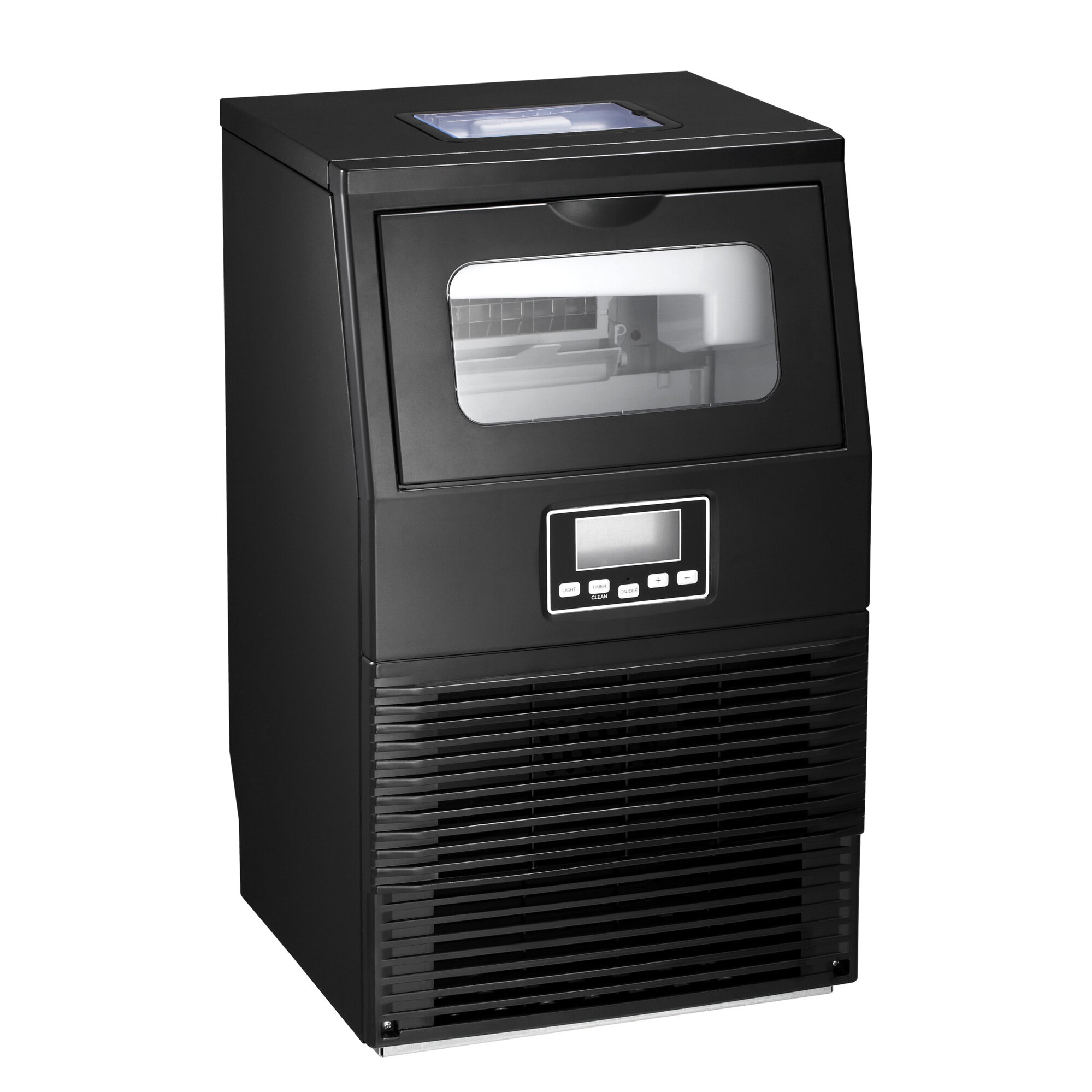 Yukool Commercial Machine 84 Lb Daily Production Freestanding Ice Maker Wayfair