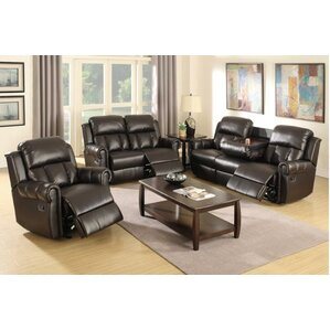 Nancy 3 Piece Living Room Set by A&J Homes S..