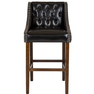Beau 30 Bar Stool by Alcott Hill 2019 Coupon