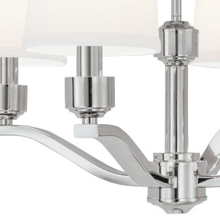 Charlton Home Shaun 6-Light Shaded Chandelier