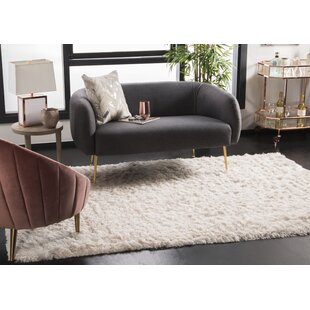 Big Save Oakdene Hand-Tufted Polyester Ivory Area Rug By Willa Arlo Interiors
