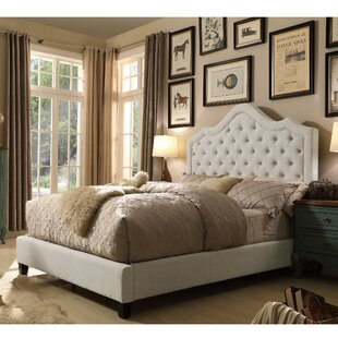 Orlando Upholstered Panel Bed by Willa Arlo Interiors