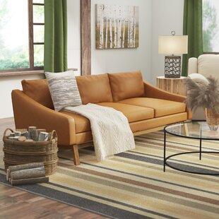 Coronet Leather Sofa