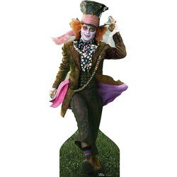Advanced Graphics Mad Hatter Johnny Depp Lifesized Stand Up