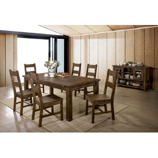 Oriole 7 Piece Dining Set Loon Peak