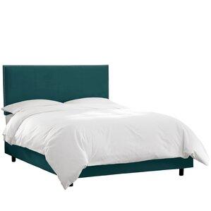 Duque Upholstered Panel Bed by Brayden Studio