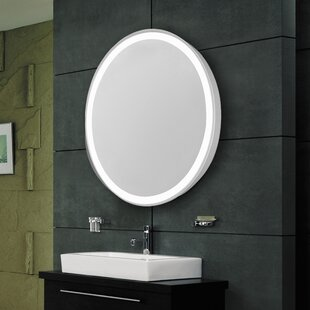 Latitude Run All A Edge Electric Bathroom/Vanity Mirror