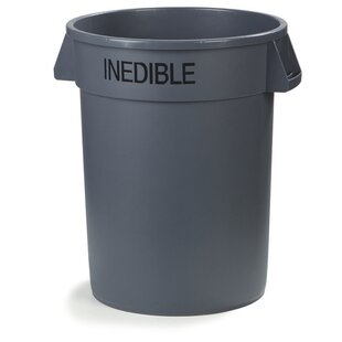 Bronco™ 32 Gallon Curbside Trash & Recycling Bin (Set Of 4) By Carlisle Food Service Products