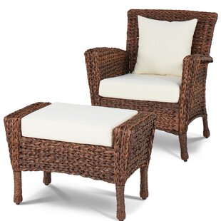 Alcott Hill Huck Patio Chair with Cushion