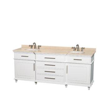 Berkeley 80 Double Bathroom Vanity Set
