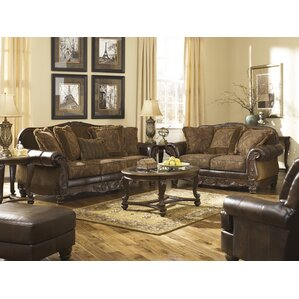 Living Room Furniture Leather leather living room sets you'll love | wayfair