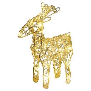 Standing Reindeer 20 LED Lighted Display By The Seasonal Aisle