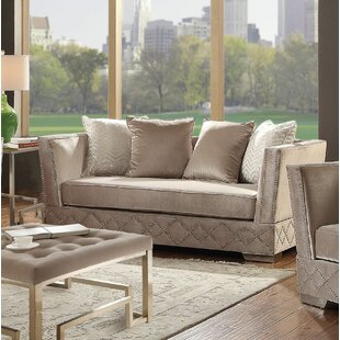 Stanford Standard Loveseat by Everly Quinn
