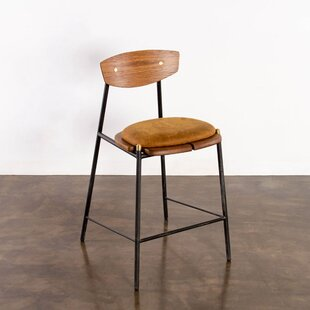 Aldo Oak Bar Stool Corrigan Studio