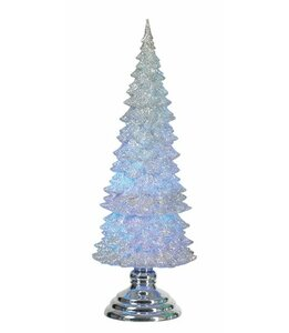 Light Up Glitter Tree