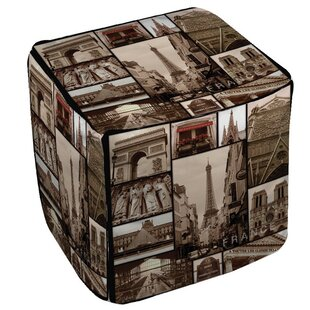 France Pouf by Manual Woodwork..