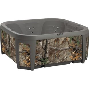 Basecamp 5-Person 45-Jet Hot Tub By Realtree Spas