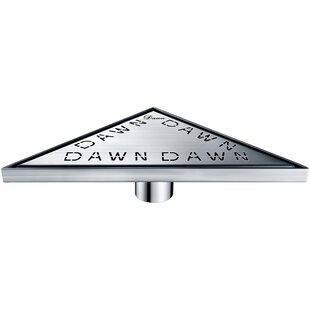 Dawn USA Brisbane River Grid Shower Drain with Overflow
