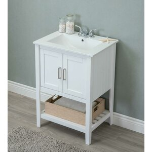 farmhouse rustic vanities birch lane - Bathroom Cabinets Sink