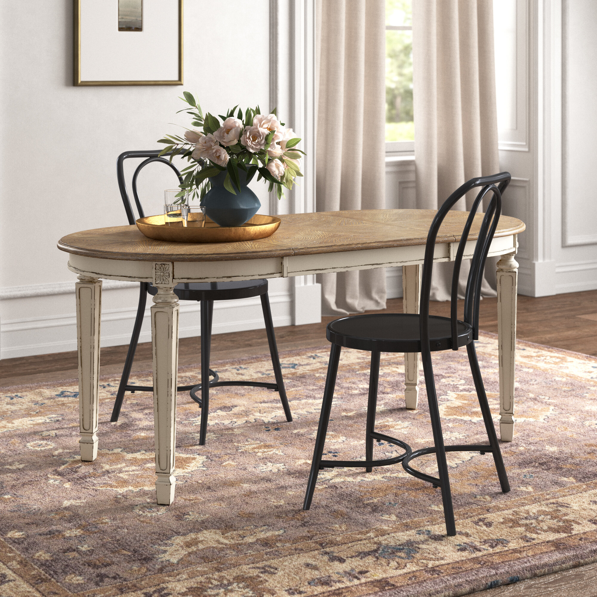 Cottage Country White Kitchen Dining Tables You Ll Love In 2020 Wayfair