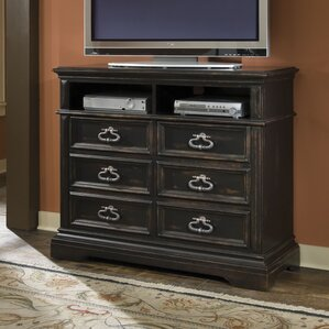 Barnys 6 Drawer Media Chest by Darby Home Co