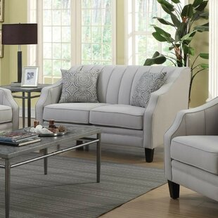 Shop Rosella Channeled Back Loveseat by Brayden Studio