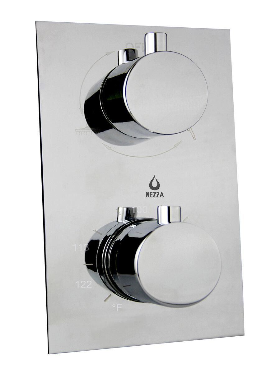 Nezza Thermostatic Shower Faucet | Wayfair