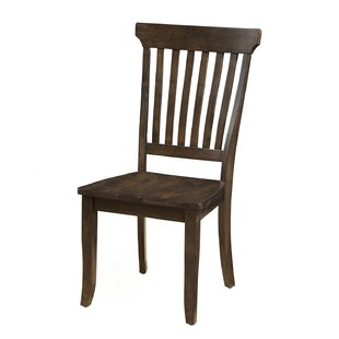 Brayden Studio Buenrostro Solid Wood Dining Chair (Set of 2)