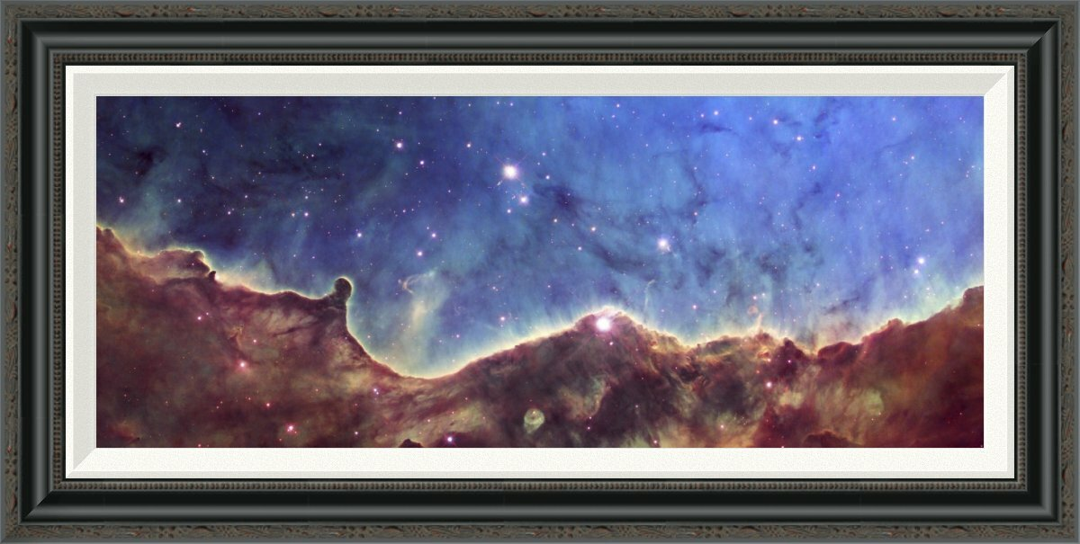 Global Gallery Hubble Image Of Ngc 3324 By Nasa Picture Frame Graphic Art Print On Canvas Wayfair