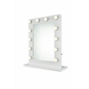 Savings Steppe Bathroom/Vanity Mirror ByLatitude Run