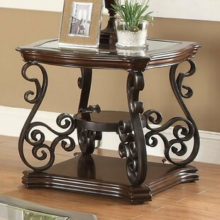 Gratton Traditional Solid End Table